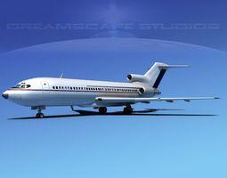 Boeing 727-100 Corporate Jet 7 3D