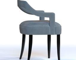 3D OKA Dining Room Chair by BRABBU