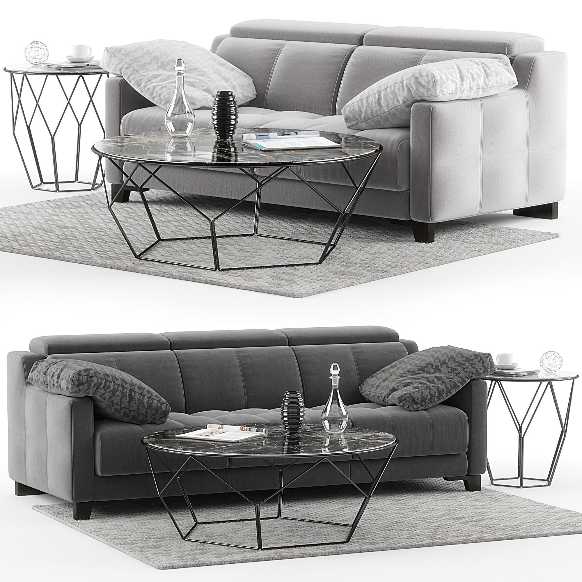 DVN Star Gino sofa set