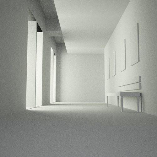 interior scene 3d model max 1