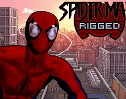 Spider-Man - RIGGED - Animated - Marvel 3D asset 3