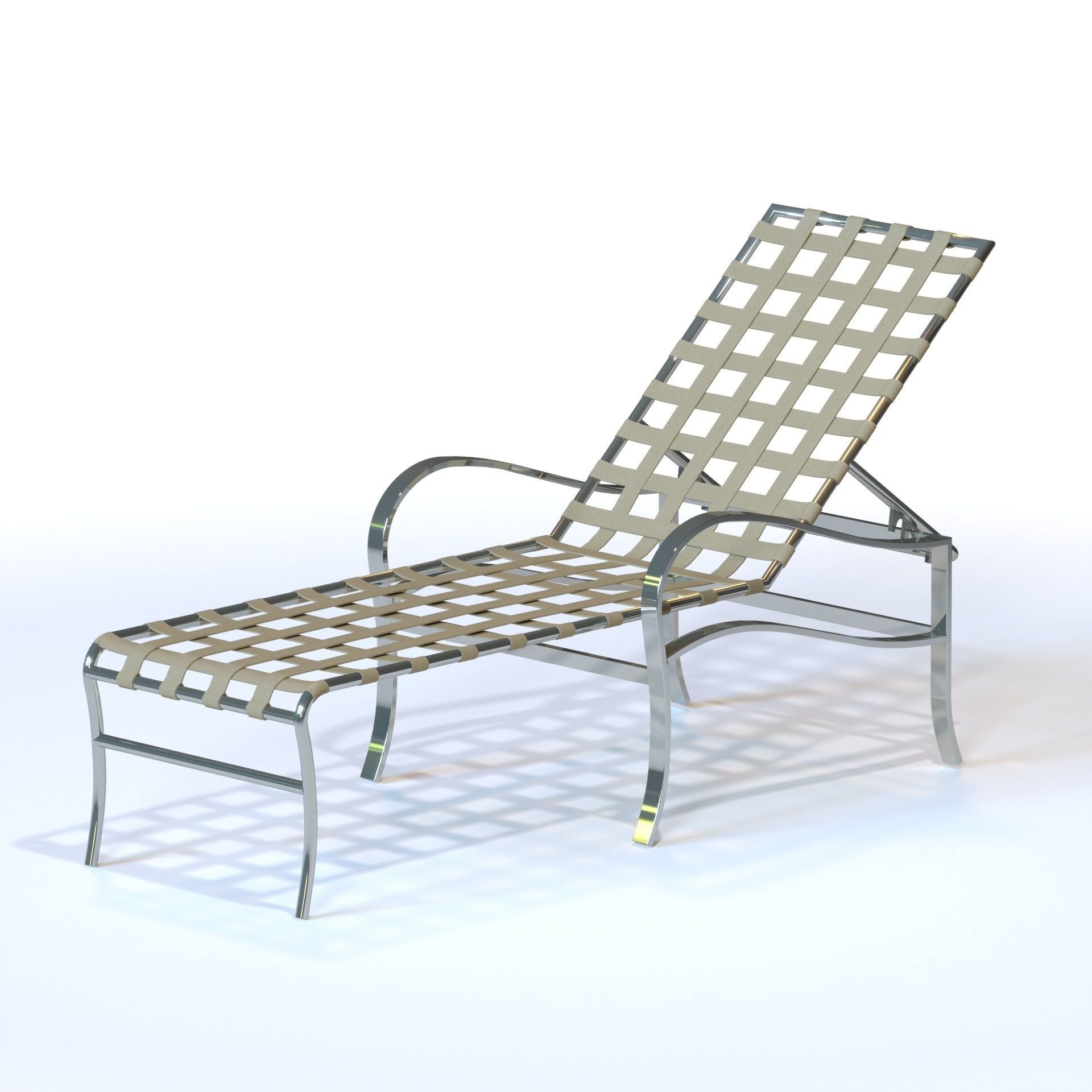 Astonishing Tropitone By Casual Living Palladian Strap Chaise Lounge 3D Model Home Interior And Landscaping Ponolsignezvosmurscom