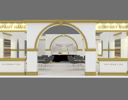 EXHIBITION STAND 24 3D model