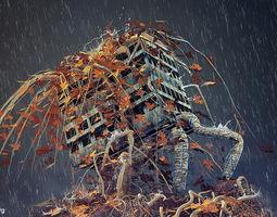 3D Ivy of distruction