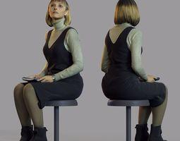 3d scan woman 3 girl