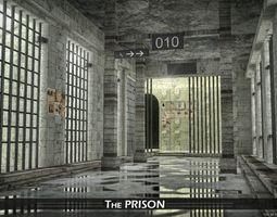 Prison 3D asset