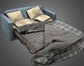 Sofa Bed HVM - PBR Game Ready 3D model