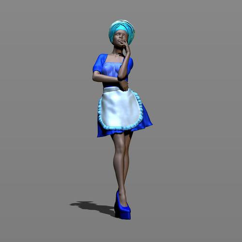 pretty woman part 6 3d model obj mtl fbx stl ztl 1