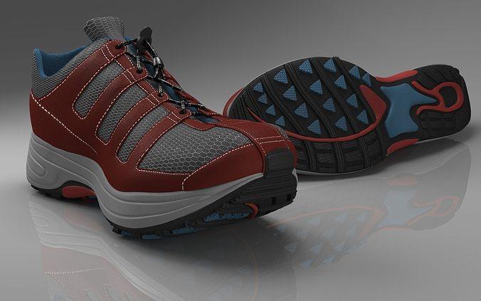 Running Shoes D Model
