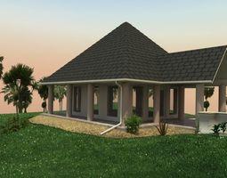 3D Small Wedding Chapel