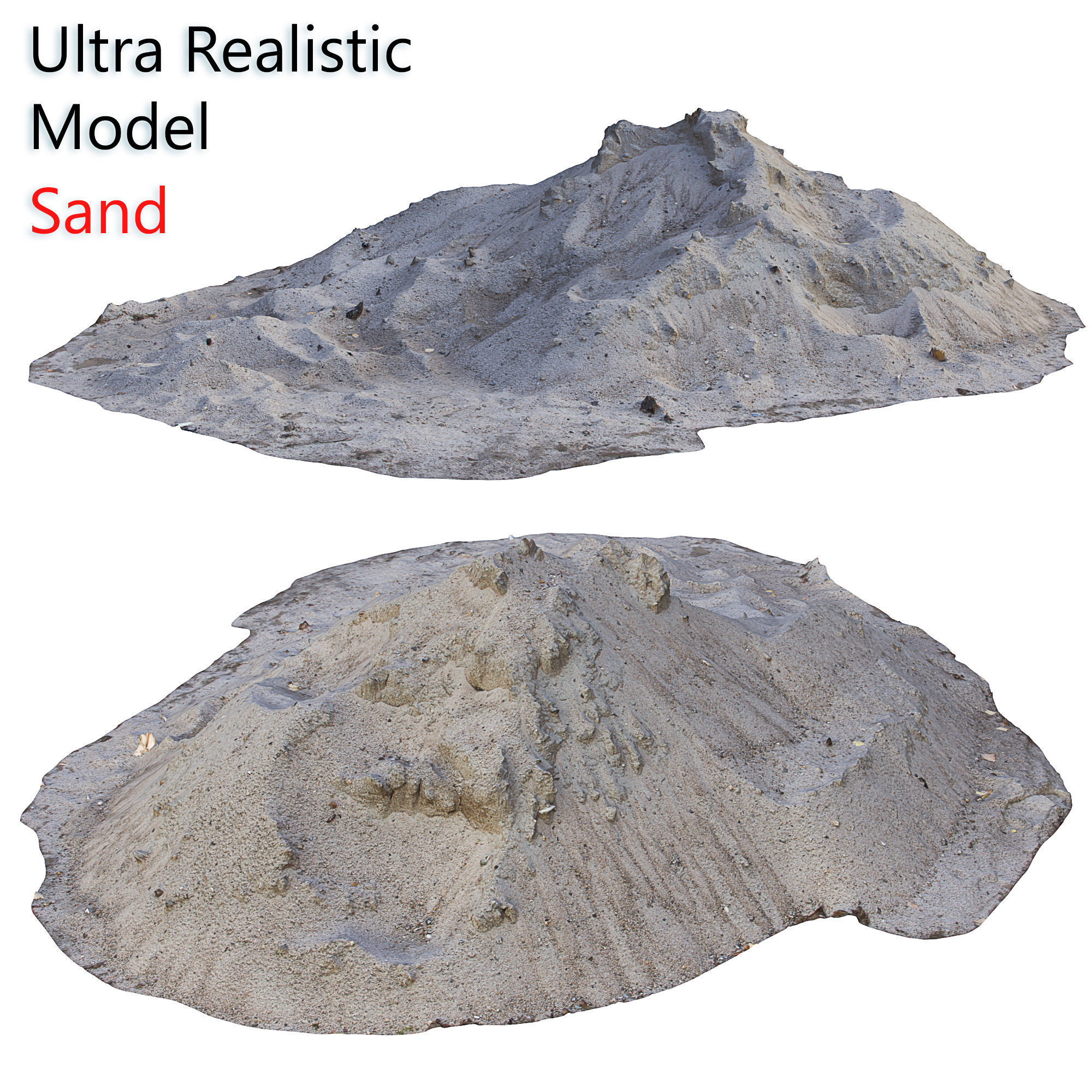 Ultra realistic Sand Scan