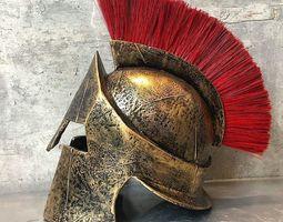 300 spartan helmet replica leonidas 3D print model