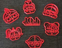 3D print model Kit LOL Surprise Cookie Cutter