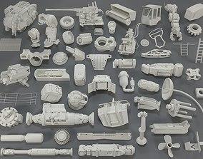 3D Kit bash - 54 pieces - collection-17