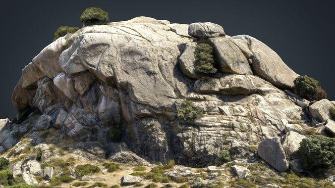 mountain rocks 6 3d model max obj mtl fbx ma mb 1