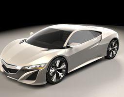 3D Honda NSX 2012