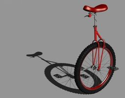 3D Mountain Unicycle