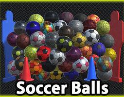 Ultimate Soccer Ball Pack 3D asset