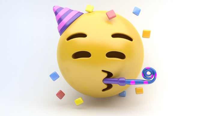 Best Buy Military Discount >> EMOJI PARTY 3D asset | CGTrader