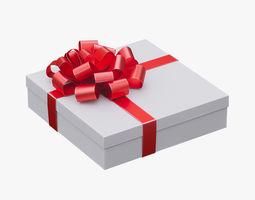 3D model Christmas gift box 04