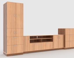 3D model tv stand 67