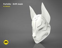 Fortnite - Drift Mask 3D printable model