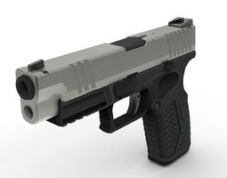 3D model Springfield Armory XDM Pistol