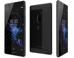 3D Sony Xperia XZ2 Premium Black