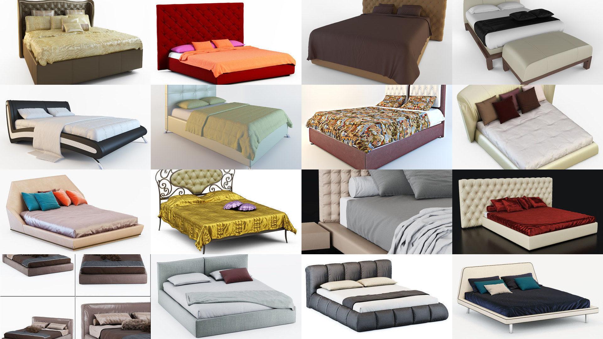 Многообразие форм и видов кроватей