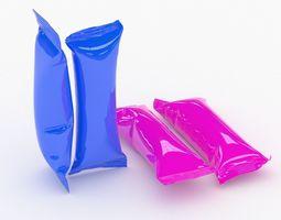 3D model Collection Food Packaging v2