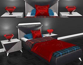3D asset Tarz Bed