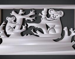 3D printable model Ornament Koala Furniture