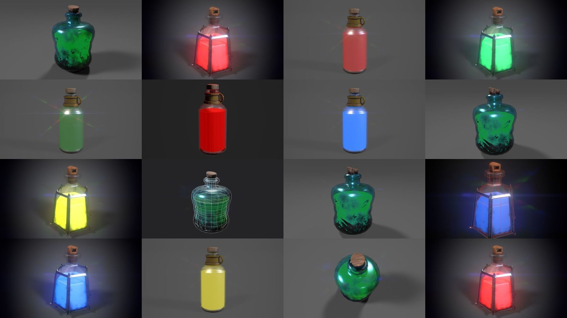 9 Potions Pack