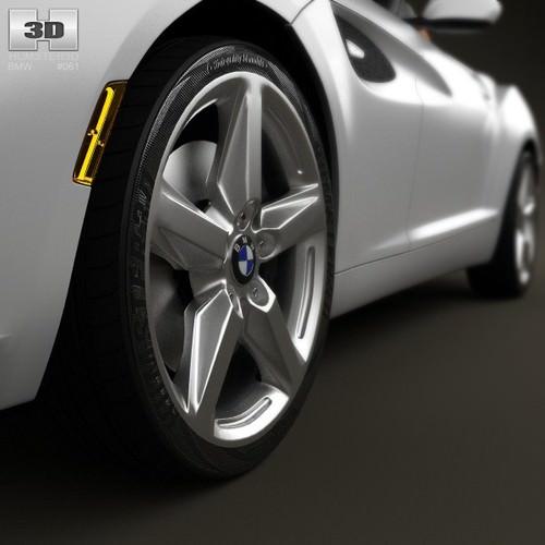 Bmw Zagato Roadster: BMW Zagato Coupe 2012 3D Model MAX OBJ 3DS FBX C4D LWO LW