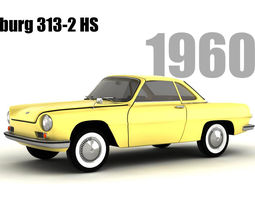 3D model Wartburg 313-2 HS