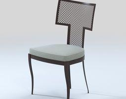 3D model Mecox - Outdoor Hadley Metal Mesh Side Chair