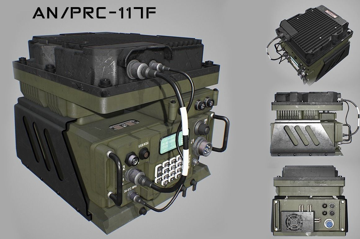 Army Radio Transceiver