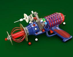 SPACE CARTOON BLASTER 3D model