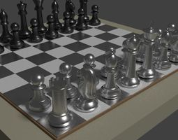 Glossy Chees Table 3D model