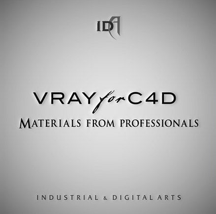 professional vray materials for c4d 3d model c4d 1