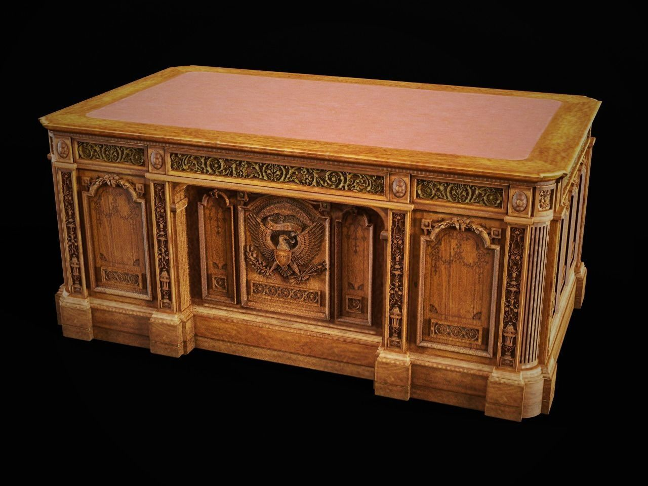 Resolute Desk of the Oval Office