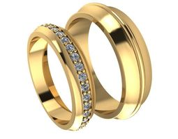 3D printable model Beautiful rings for couple