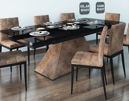 3D model Dining Table 04