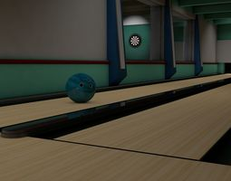alley Bowling Alley 3D