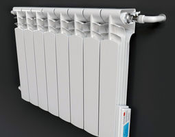 electric radiator 3D model