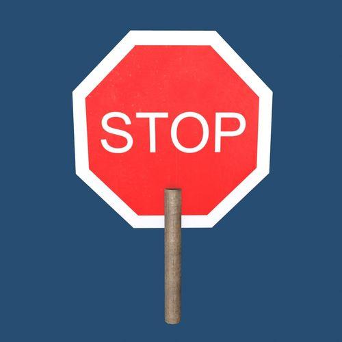 stop sign  3d model max obj mtl 3ds fbx c4d ma mb 1