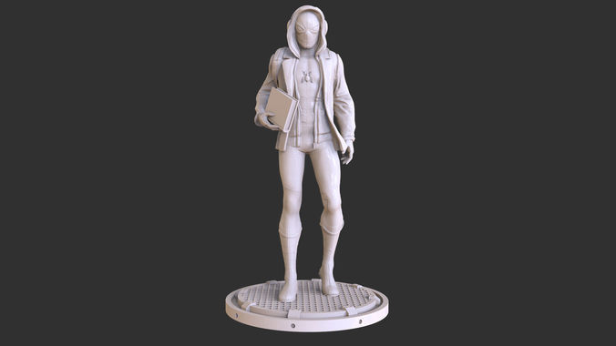 spider man home coming  action figure collectible 3d print 3d model stl 1