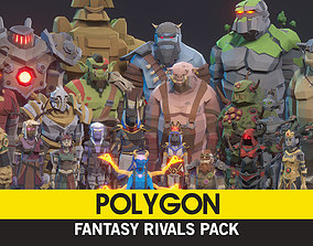 POLYGON - Fantasy Rivals Pack 3D asset