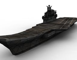 3D asset Kuznestov Russian Carrier