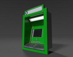 ATM Window 01 3D asset
